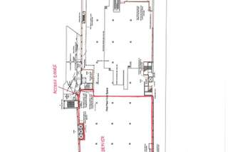 Typical Floor Plan for Rear of Red Lion House - 1
