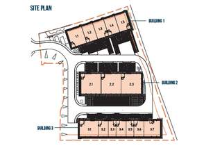 Site Plan for Western Campus - Building 3 - 1