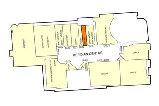 Goad Map for The Meridian Centre - 1