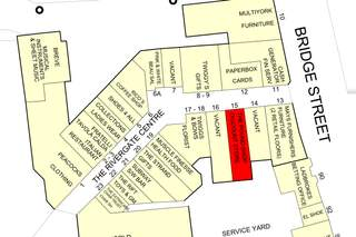 Goad Map for Rivergate Shopping Centre - 1