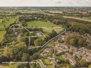Warwickshire Policw HQ.094 white keylined with disclaimer - Former Police HQ, Warwick - Commercial land plot for sale - 7.77 acres