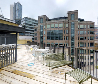 Roof Terrace View - 18-20 Appold St, London - Office for rent - 931 to 1,841 sq ft