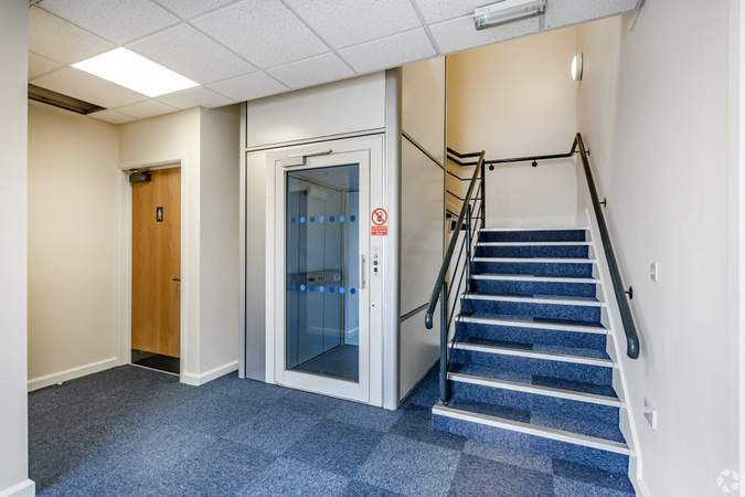 Ground floor Entrance - No2 Commerce Park, Birkenhead - Office for rent - 2,205 to 4,410 sq ft
