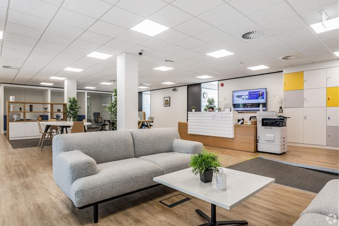 4th Floor - Reception Area - Merchants Court, Liverpool - Serviced office for rent - 50 to 7,843 sq ft