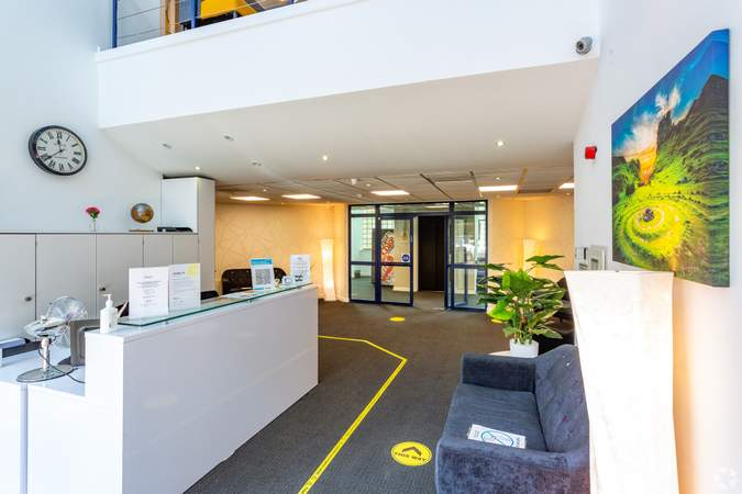 Lobby - Regus House, Cardiff - Serviced office for rent - 50 to 22,998 sq ft