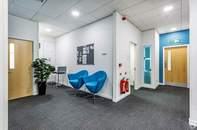 Seating Area by Kitchen - Adamson House, Towers Business Park, Manchester - Co-working space for rent - 200 to 16,249 sq ft