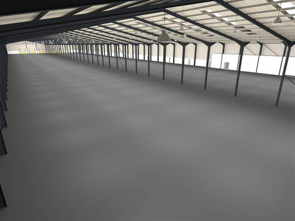 Interior Warehouse Space - Walkmill Lane, Cannock - Industrial unit for rent - 141,377 sq ft