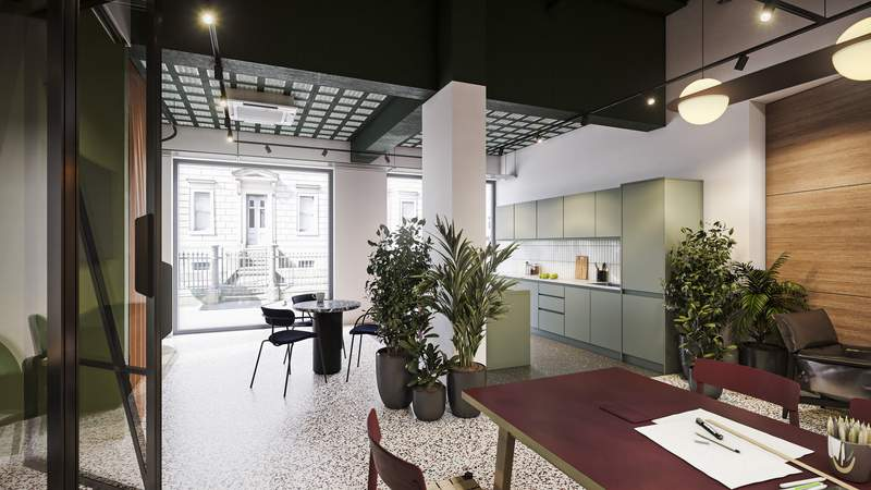 Breakout Area - Hyphen, Manchester - Office for rent - 4,786 to 8,230 sq ft