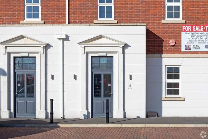 Unit 4 Entrance - Units 3-6, Blossom Ave, Grimsby - Office for sale - 6,345 sq ft