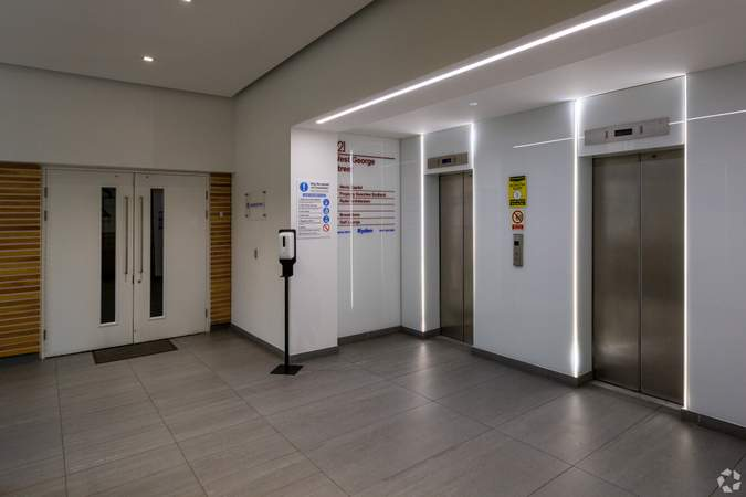 Lobby - 221 West George St, Glasgow - Office for rent - 3,620 sq ft
