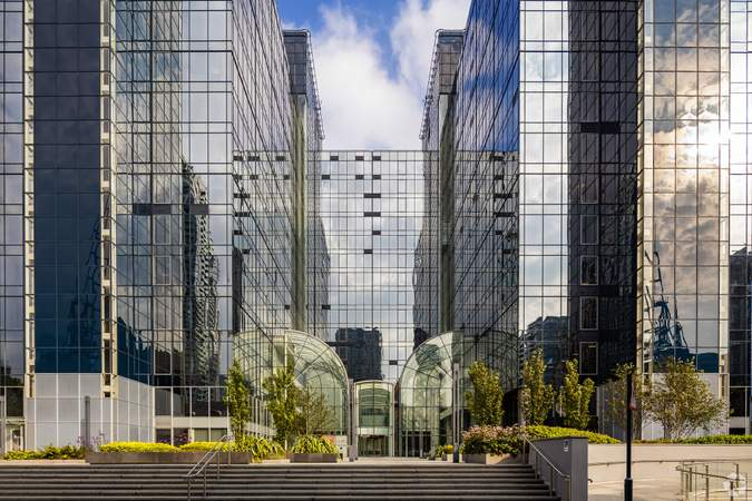 Main Entrance - Exchange Tower, London - Office for rent - 10,049 to 15,918 sq ft