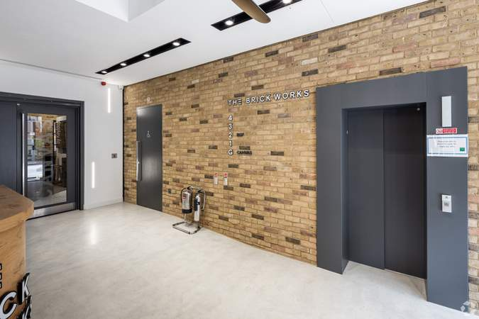 Lobby - The Brick Works, Reading - Office for rent - 3,358 to 11,840 sq ft