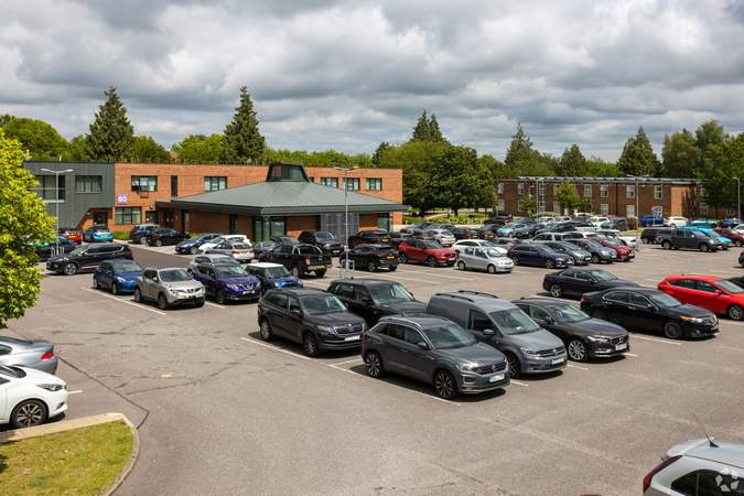 Car parking area - Business Centre, Churchill Square Business Centre, West Malling - Office for rent - 101 to 994 sq ft