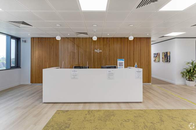 Reception - Vantage London, Brentford - Co-working space for rent - 50 to 17,086 sq ft