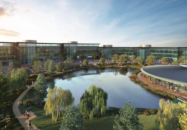 External Shot - Campus, Reading International, Reading - Office for rent - 1,490 to 178,620 sq ft