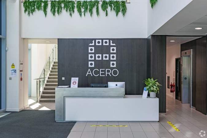 Lobby - Acero, Sheffield - Serviced office for rent - 50 to 15,000 sq ft