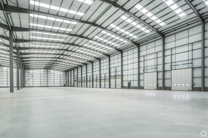 Industrial View - Loading Area - Academy One, Liverpool - Industrial unit for rent - 110,000 sq ft