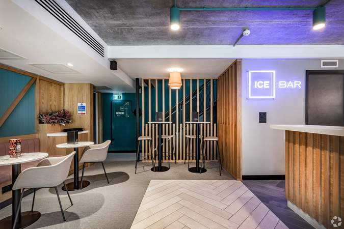 Common Area - Ground Floor Ice Bar - ICE Building, Salford - Office for rent - 4,010 to 9,222 sq ft