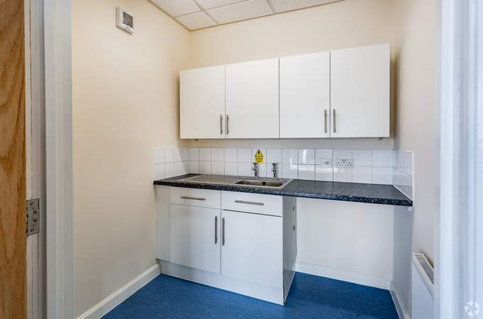 First Floor - Kitchen - No2 Commerce Park, Birkenhead - Office for rent - 2,205 to 4,410 sq ft