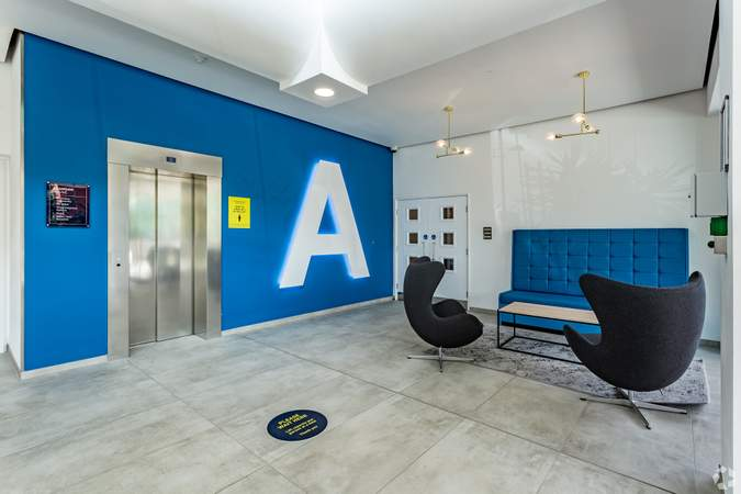 Lift Area - Atrium - Adamson House, Towers Business Park, Manchester - Co-working space for rent - 200 to 16,249 sq ft