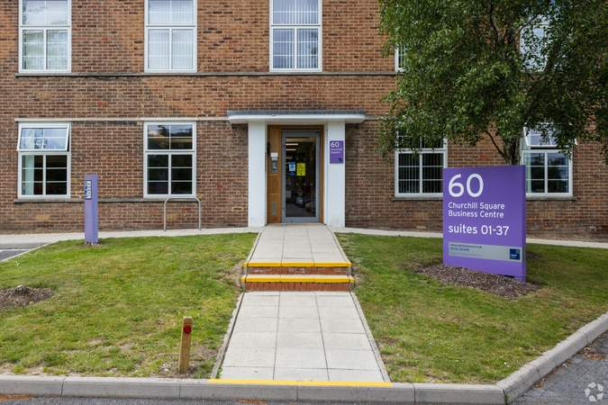 Building 60 Entrance - Business Centre, Churchill Square Business Centre, West Malling - Office for rent - 101 to 994 sq ft