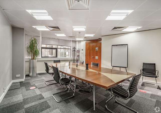 Reception Area Board Room - Genesis Centre, Warrington - Office for rent - 467 to 33,183 sq ft