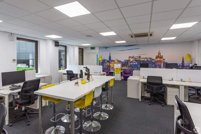 Coworking Space - Forsyth House, Edinburgh - Co-working space for rent - 50 to 31,308 sq ft