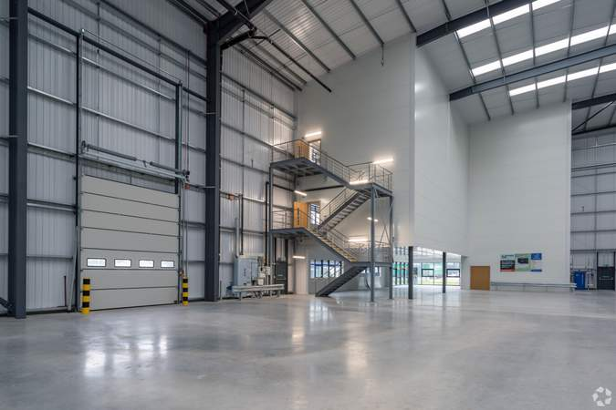 Entrance to Office - Lichfield Rd, Burton On Trent - Industrial unit for sale - 103,069 sq ft