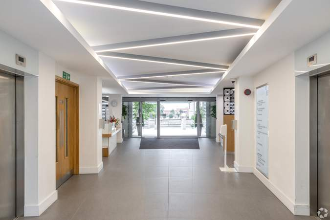 Lobby - Reading Bridge House, Reading - Office for rent - 2,063 to 5,737 sq ft