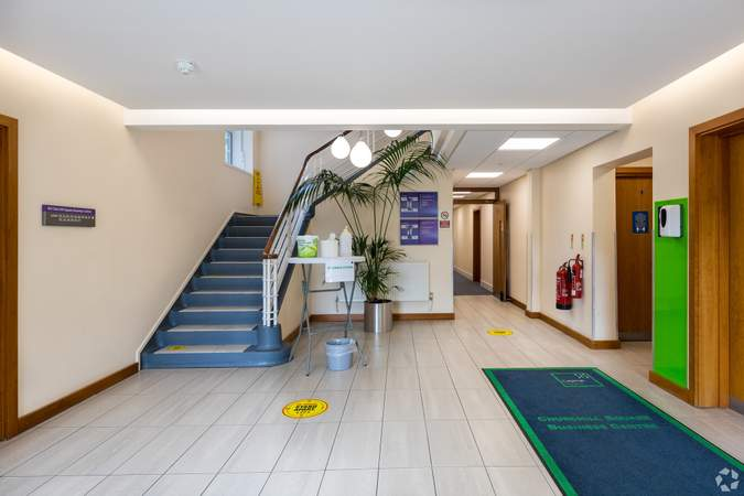 Main Entrance Lobby - Business Centre, Churchill Square Business Centre, West Malling - Office for rent - 101 to 994 sq ft