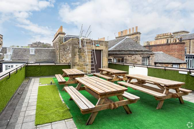 Rooftop Terrace - Forsyth House, Edinburgh - Co-working space for rent - 50 to 31,308 sq ft