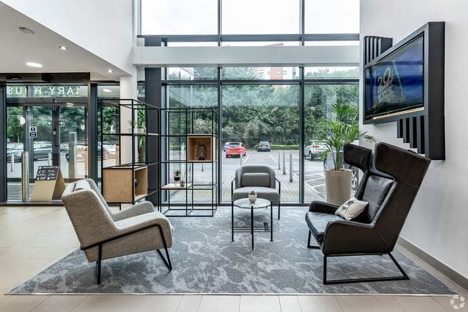 Main Building Seating Area - Centenary House, Salford - Serviced office for rent - 50 to 22,000 sq ft