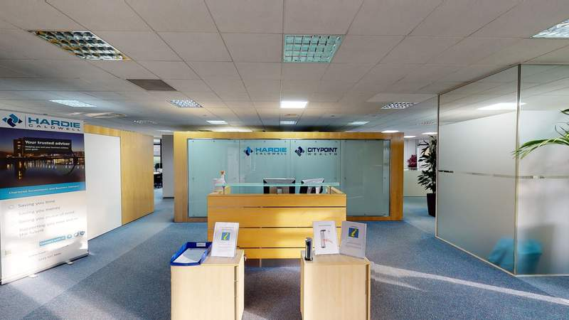 Ground Floor Tour - Citypoint 2, Glasgow - Office for sale - 38,836 sq ft