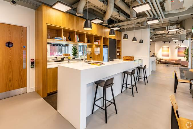 Kitchen - Cannon Street, London - Co-working space for rent - 100 to 27,489 sq ft