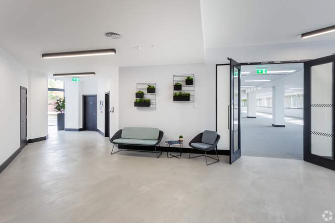 Reception Area - The Lambourn, Abingdon - Office for rent - 5,631 to 47,015 sq ft
