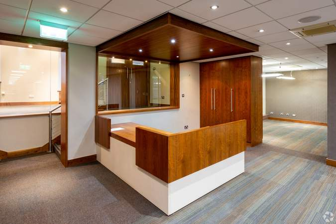 Reception - 221 West George St, Glasgow - Office for rent - 3,620 sq ft