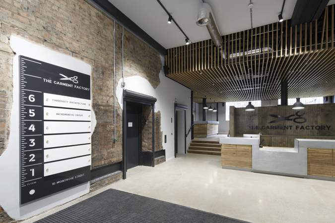 Lobby - The Garment Factory, Glasgow - Office for rent - 3,082 to 16,743 sq ft