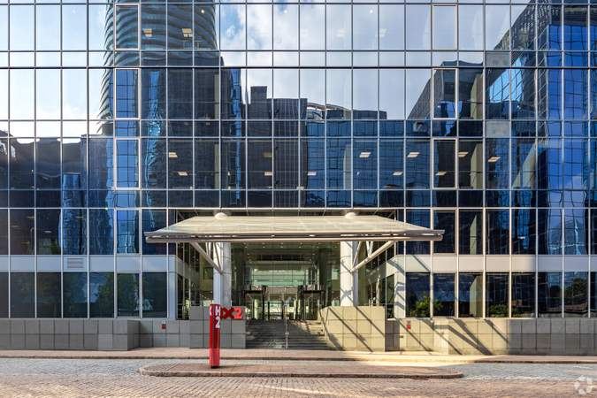 Secondary Entrance - Exchange Tower, London - Office for rent - 10,049 to 15,918 sq ft