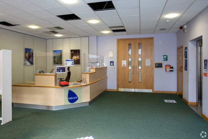 Lobby - Kintail House, Hamilton Intl Technology Park, Blantyre - Office for rent - 13,381 to 13,612 sq ft