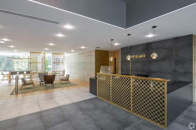 Lobby - The Blade, Reading - Office for rent - 50 to 8,407 sq ft