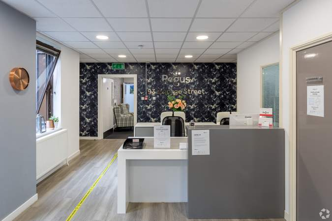 Reception - Forsyth House, Edinburgh - Co-working space for rent - 50 to 31,308 sq ft