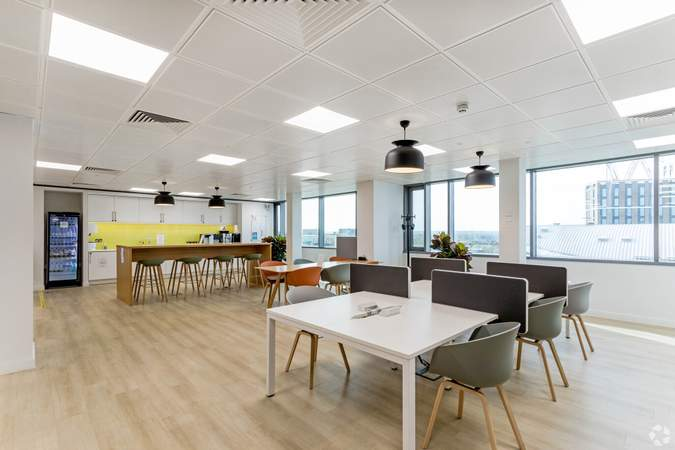 Communal Space - Vantage London, Brentford - Co-working space for rent - 50 to 17,086 sq ft