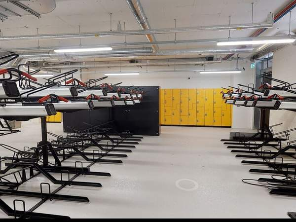 Bike Storage - The Hive Building, Wembley - Office for rent - 6,744 to 53,948 sq ft
