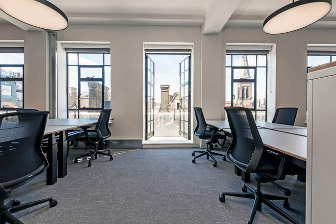 Internal Phoro - 19-23 Wells St, London - Office for rent - 2,754 to 5,508 sq ft