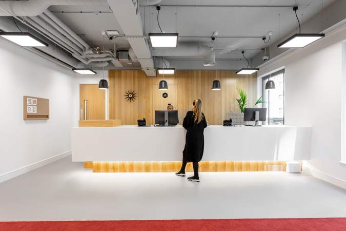 Interior Photo - Cannon Street, London - Co-working space for rent - 100 to 27,489 sq ft