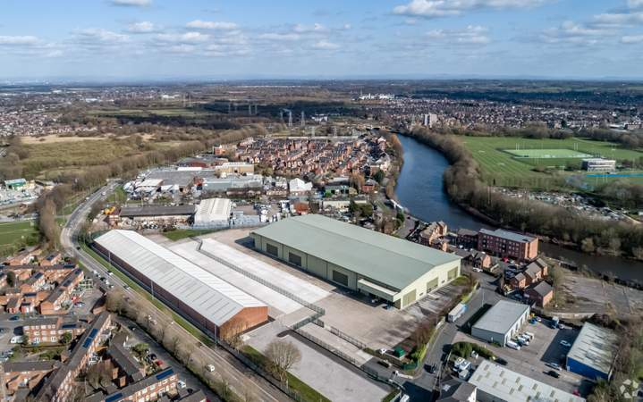 Aerial Image - Howley 80, Warrington - Industrial unit for rent - 78,621 sq ft