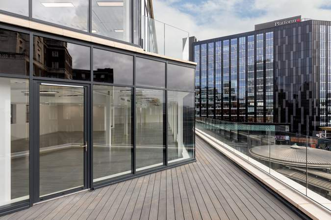 Roof Terrace - 34 Boar Ln, Leeds - Office for rent - 1,681 to 10,527 sq ft