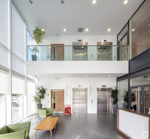 Recpetion - 450 Brook Dr, Reading - Co-working space for rent - 50 to 2,645 sq ft