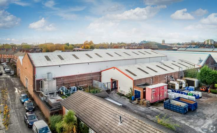 Primary Image - Erasteel Stubs Ltd, Warrington - Industrial unit for sale - 40,903 sq ft
