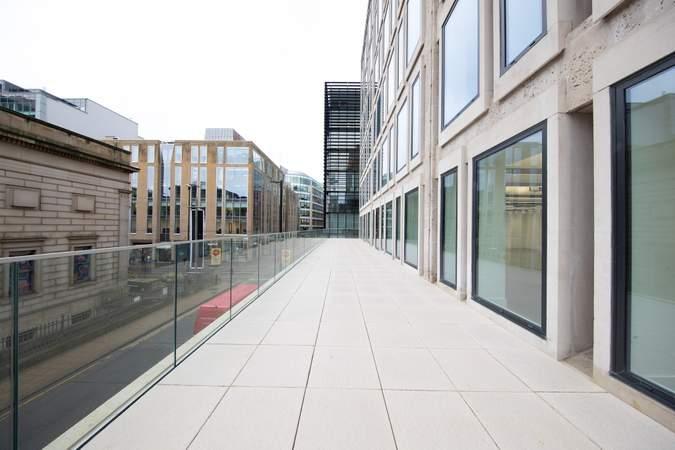 Terrace - Hyphen, Manchester - Office for rent - 4,786 to 8,230 sq ft